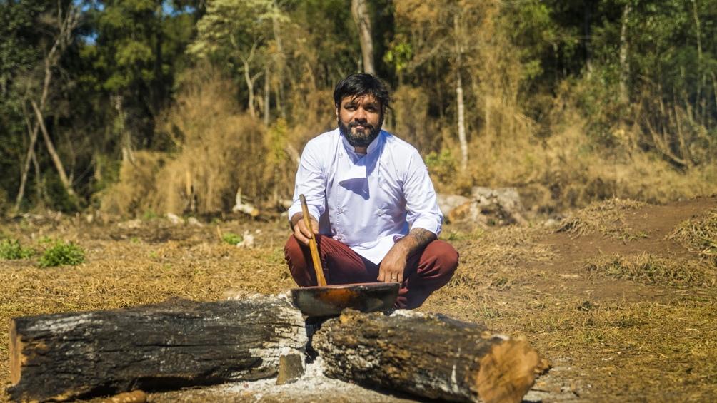 En estos diez años, Saúl Lencinas se convirtió en un estudioso de la comida y la historia mbya guaraní. (Foto: Feedback PR)