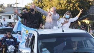El Frente Corrientes de Todos cerró su campaña con una multitudinaria caravana