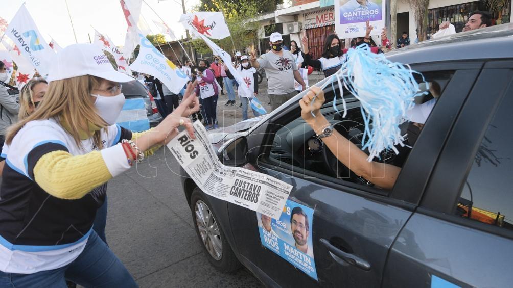 El domingo serán las elecciones en Corrientes (Foto: Germán Pomar).
