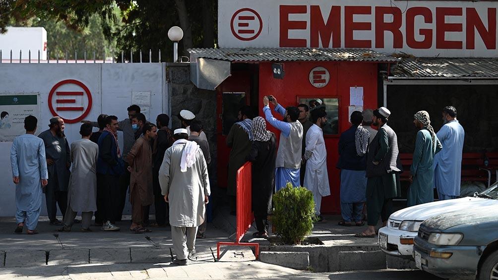 Los tremendos atentados suicidas del jueves dejaron más de 100 muertos y un número aún mayor de heridos. Foto: AFP