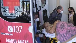 """Miguel Arias, el diputado baleado, continúa """"estable"""" y """"lúcido"""""""