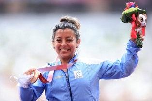 El bronce de Antonella Ruiz Díaz en bala, lo más destacado de la Argentina