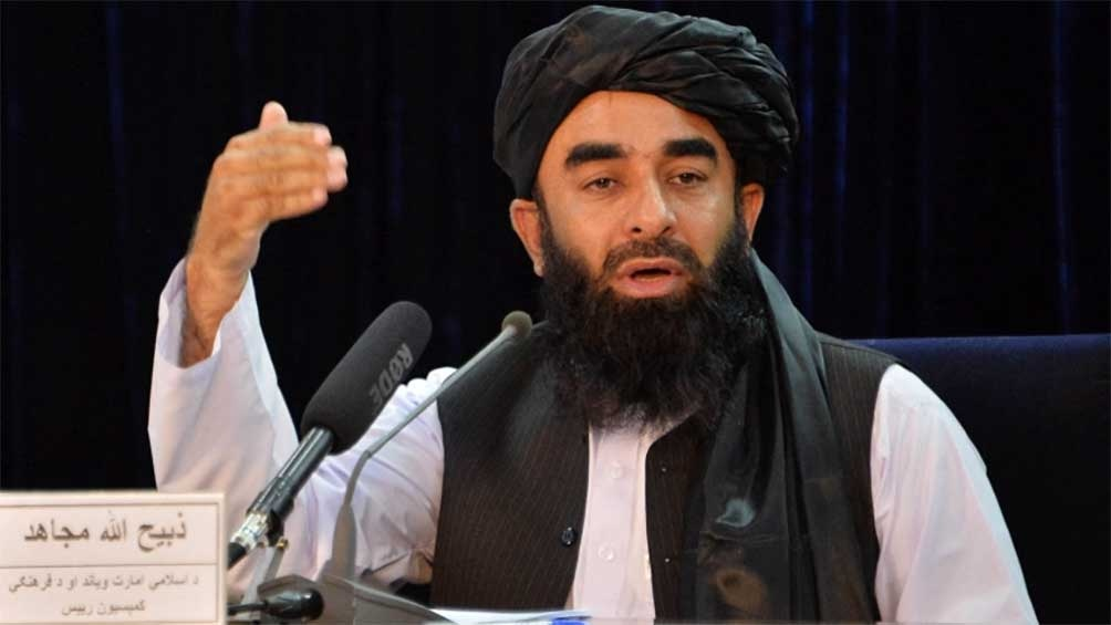 El portavoz del régimen, Zabihullah Muyahid, dio un ultimátum para la entrega de todo el material.