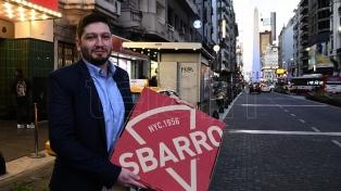 """""""El mercado argentino es una apuesta de crecimiento"""", dijo el director de la cadena Sbarro"""