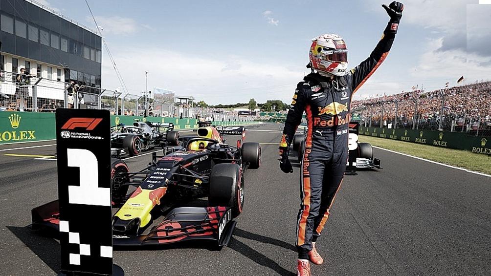 Max Verstappen, el mejor tiempo de las pruebas clasificatorias, ante su gente en Zanvoort. foto archivo