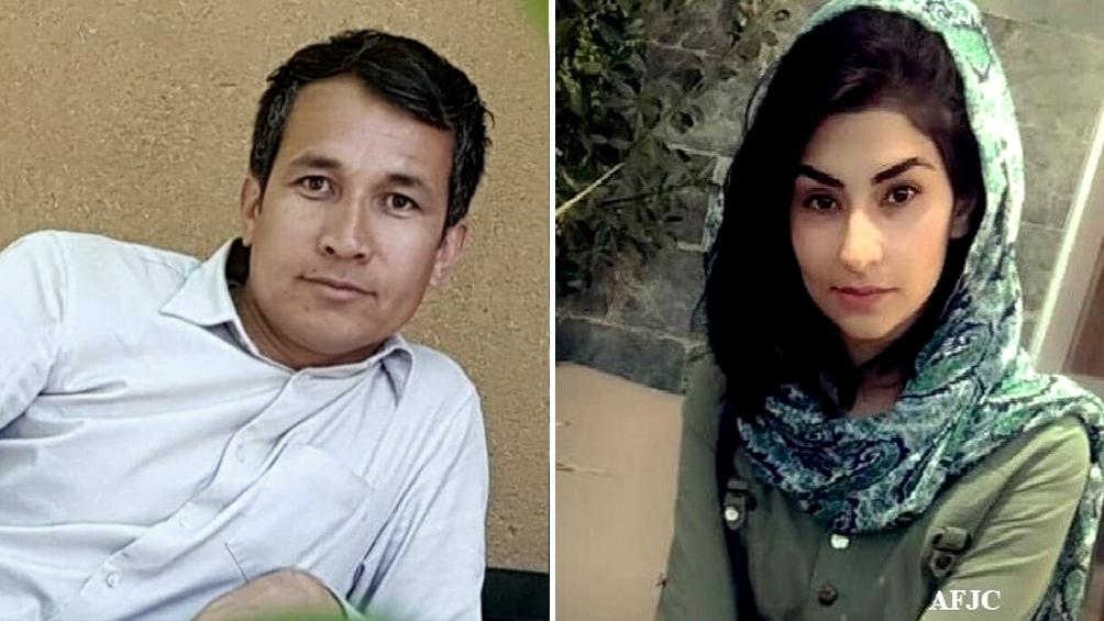 Juhad Hamidi, Alireza Ahmadi (foto) y Najma Saadeqi (foto) son los nombres delos periodistas muertos en el atentado en el aeropuerto de Kabul.
