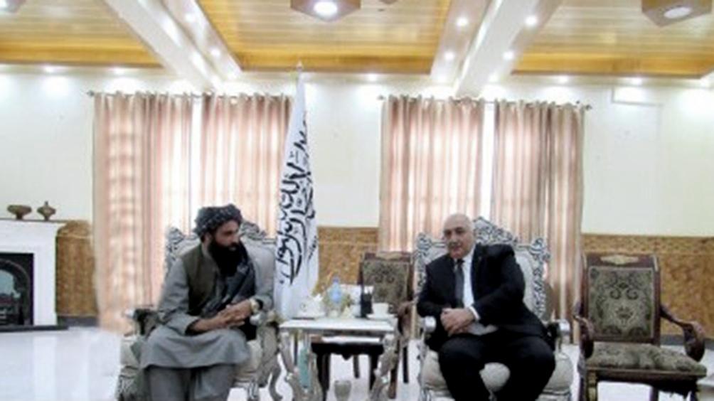 Reunión en Mazar-i-Sharif, Afganistán (Foto: MAE de Turkmenistán).