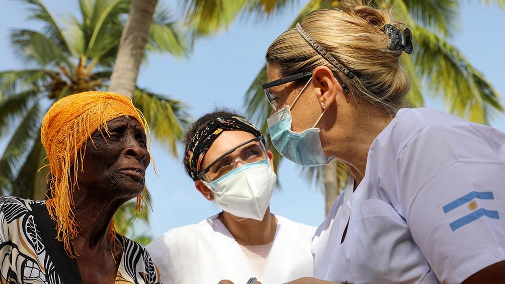 Cascos Blancos continúa con su misión humanitaria en Haití y preparó envío de donación a Cuba