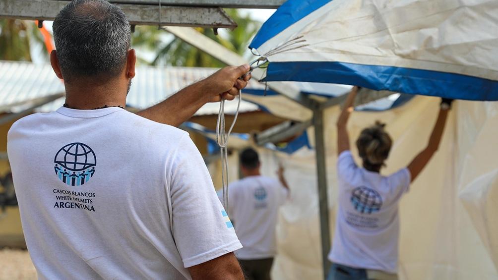 Fotos: Prensa Cascos Blancos.