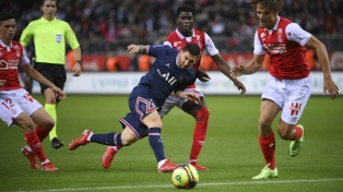 Messi atendió un pedido particular en su debut con PSG