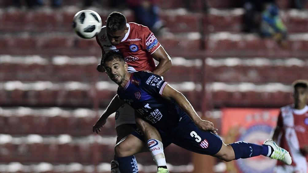 Unión ganó los últimos dos compromisos ante Argentinos Juniors