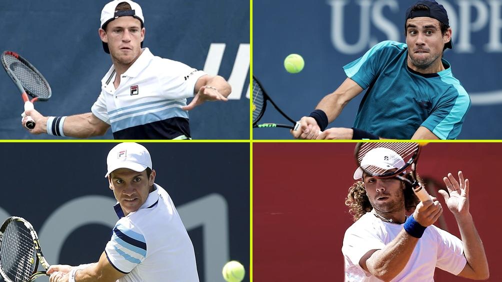 Schwartzman, Pella, Bagnis y Trungelliti, que jugarán entre sí, son los argentinos que siguen en el Us Open.