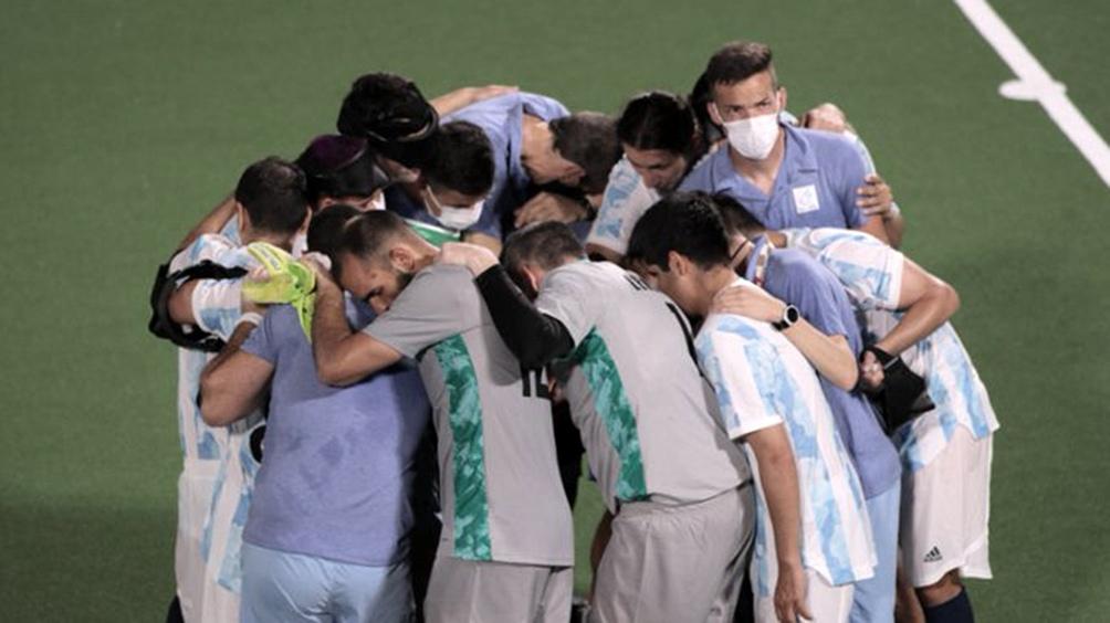 Argentina hizo un enorme despliegue defensivo para contener los ataques de Brasil.
