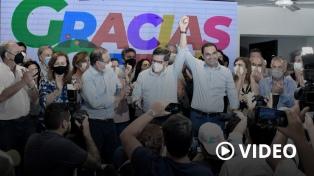 El gobernador Valdés ganó la reelección en Corrientes con más del 76,76% de los votos