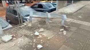 Un atentado con explosivos a una estación policial de Cúcuta dejó 14 heridos