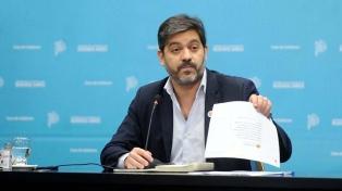 """Bianco: """"A la oposición no le veo ninguna propuesta concreta"""""""