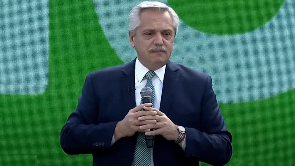 El Presidente encabezó un encuentro del Frente de Todos en Tecnópolis.