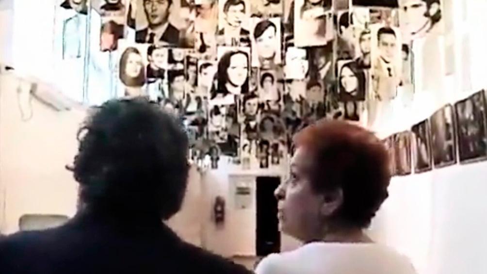 El hijo y la viuda de Gleyzer, reflexionan en medio de la memoria colectiva.