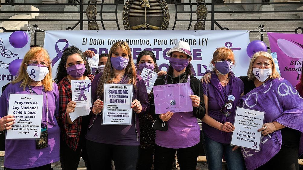 Reclaman el tratamiento de un proyecto de ley sobre sensibilidad central. Foto: Víctor Carreira
