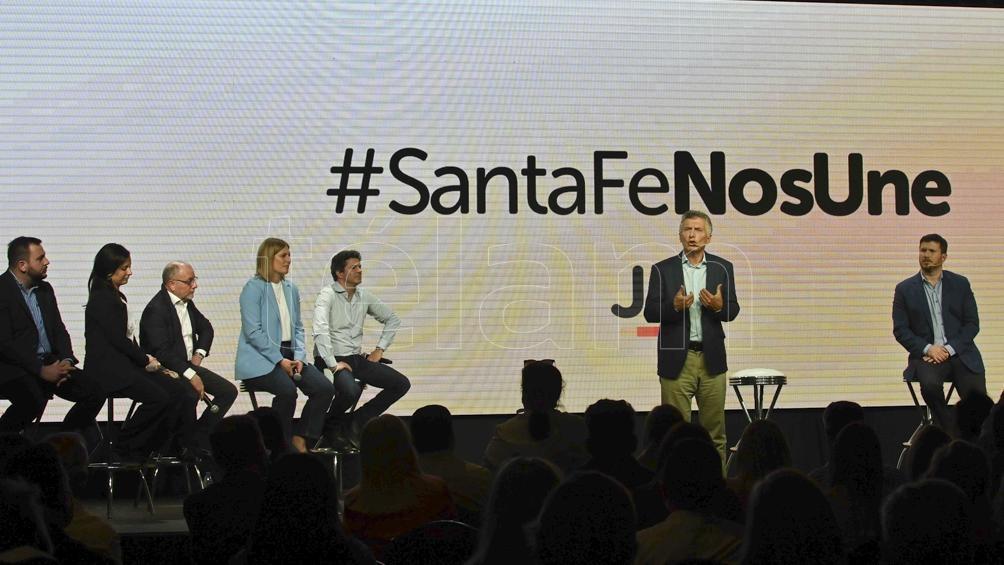 El precandidato Federico Angelini, que apoyó el expresidente Mauricio Macri, finalizó tercero (Archivo Sebastián Granata).