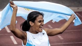 Yanina Martínez quedó a tres centésimas del podio en los 100 metros de atletismo