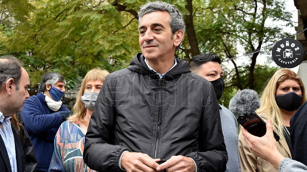 """Randazzo mencionó la propuesta de impulsar """"una nueva ley en materia de exportaciones"""". Foto: Horacio Culaciatti"""