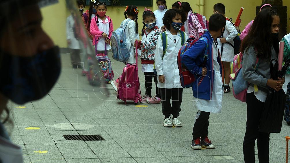Sólo en la provincia de Buenos Aires son más de 4 millones los y las estudiantes que se movilizan. Foto: Daniel Dabove