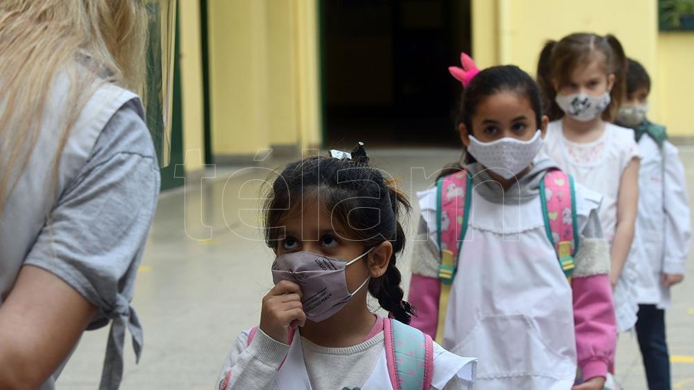 """El Consejo Federal de Educación aprobó una propuesta para regresar a la """"presencialidad plena"""" en las escuelas del país a partir del miércoles 1 de septiembre. Foto: Daniel Dabove"""