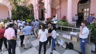 Corrientes: candidatos de los principales frentes celebraron la jornada democrática