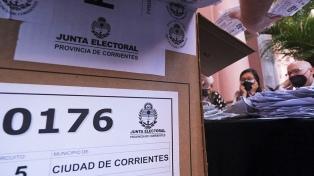 Corrientes: el oficialismo provincial se impuso en Senadores y Diputados