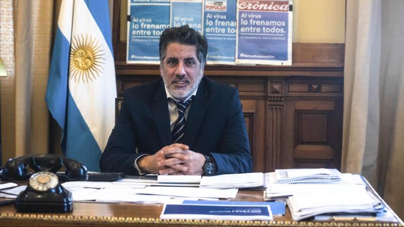 Renunció el secretario de Medios y Comunicación Pública, Pancho Meritello - Télam