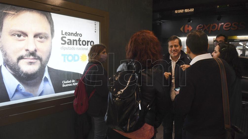"""Santoro propuso una """"moratoria para responsables inscriptos"""" y, en materia ambiental, la """"regulación de la quema de basura"""", con estándares que deben estar """"en línea con la Unión Europea y Japón"""". Foto: Maximiliano Luna"""
