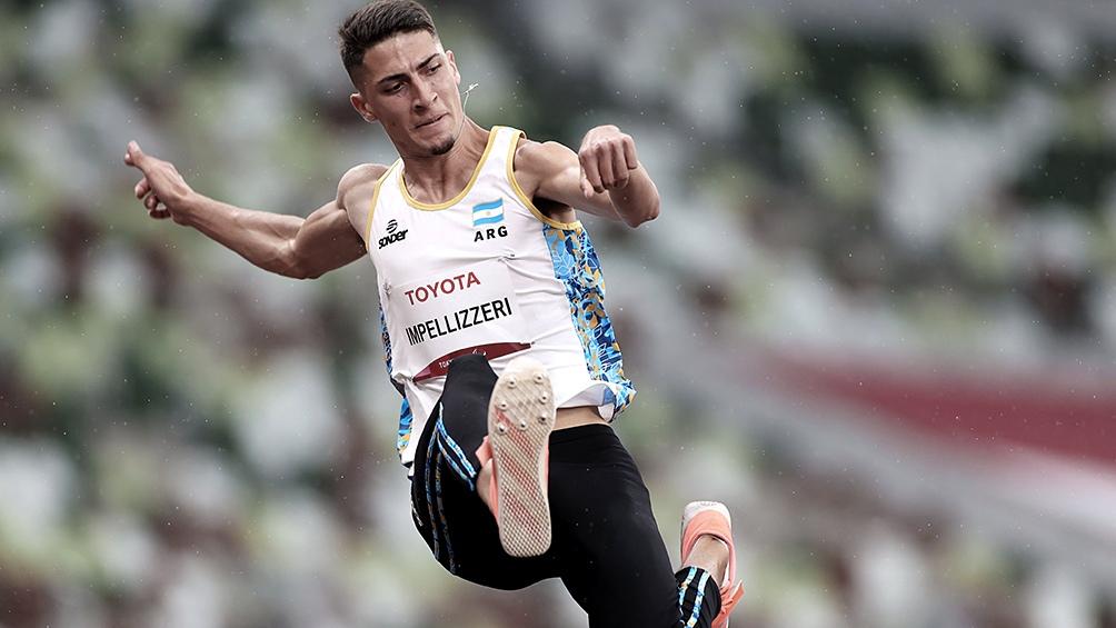Brian Lionel Impellizzeri logró la segunda medalla de plata de la delegación argentina.
