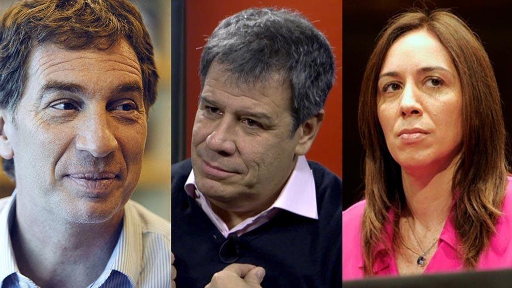 Con recorridas y reuniones Vidal, Manes y Santilli despliegan su agenda proselitista