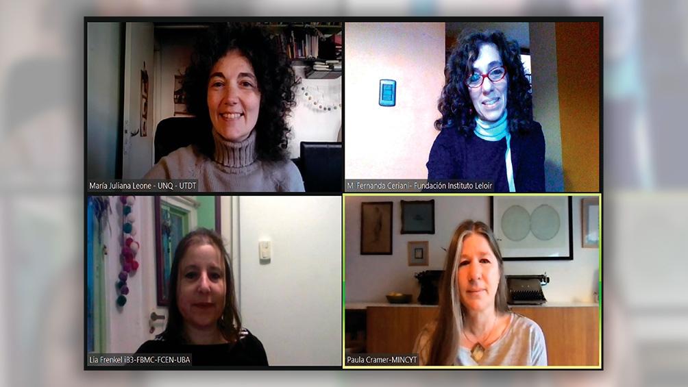 La app fue diseñada por las investigadoras del Conicet Lia Frenkel, María Fernanda Ceriani, Paula Cramer y María Juliana Leone.
