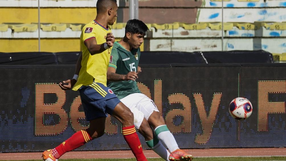 Bolivia recibe a Colombia en La Paz. Foto: @Conmebol