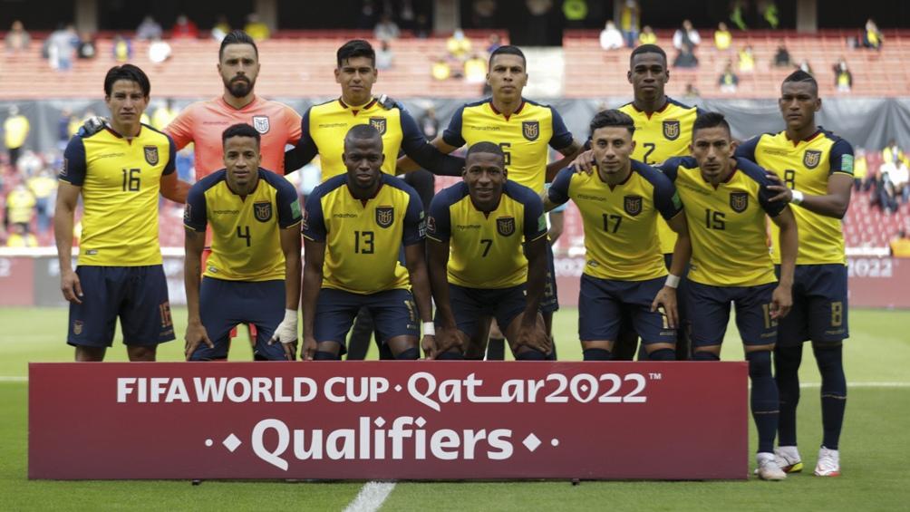 Ecuador, dirigido por Gustavo Alfaro, se ubica segundo en las clasificatorias rumbo a Qatar 2022. Foto: @conmebol