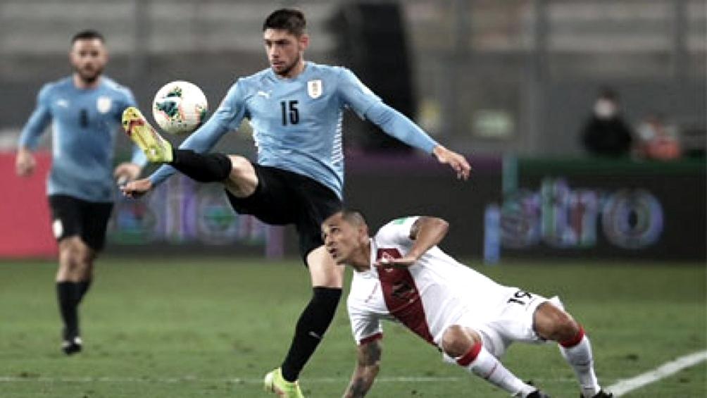 Perú y Uruguay se repartieron los puntos en Lima. Foto: @Conmebol