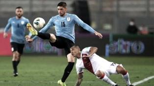 Uruguay y Perú empataron en un discreto partido en Lima