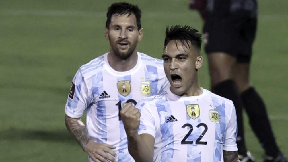 Lautaro Martínez es baja en Argentina para visitar a Paraguay