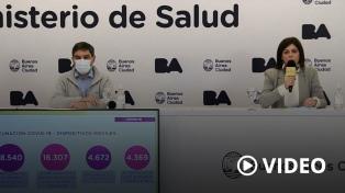 El gobierno porteño se propone llegar al 70% de la población con dos dosis en septiembre