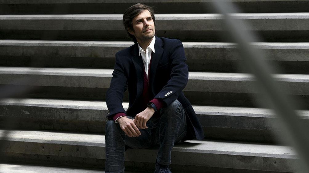Andrés Lawson, director ejecutivo de la empresa Osana Salud. Foto: Daniel Davobe.
