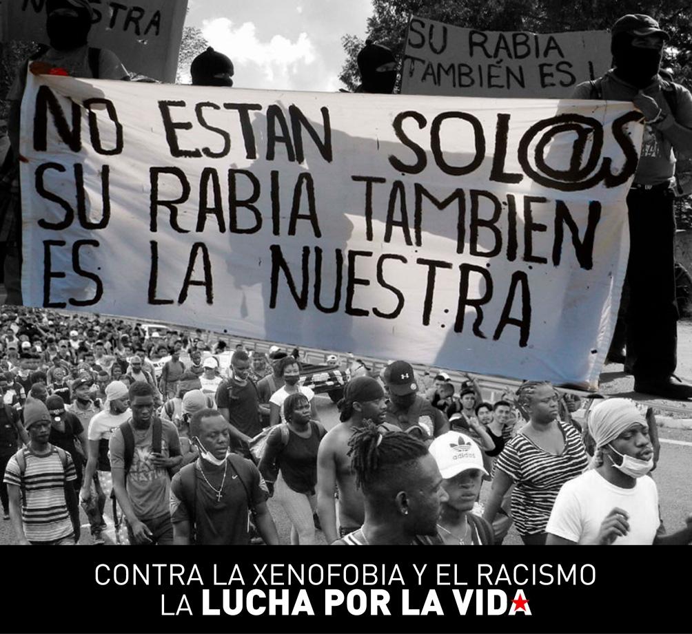 Los zapatiastas denunciaron que agentes del Instituto Nacional de Migración y de la Guardia Nacional disolvieron violentamente una caravana de personas en Chiapas a instancias de la política exterior estadounidense.