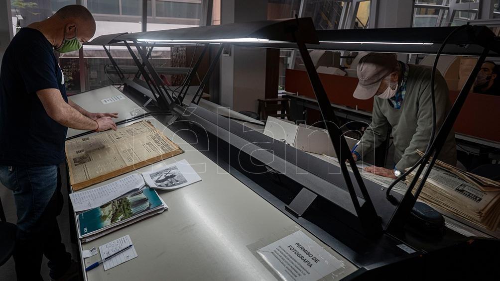 La Biblioteca del Congreso de la Nación (BCN) abrió tempranamente para la consulta en sala con un aforo de 30 personas por turno.