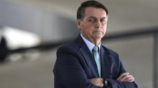 """Bolsonaro espera una multitud en las calles para decidir una """"ruptura"""" con la Corte"""