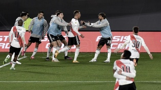River e Independiente se repartieron un tiempo cada uno para un justo empate