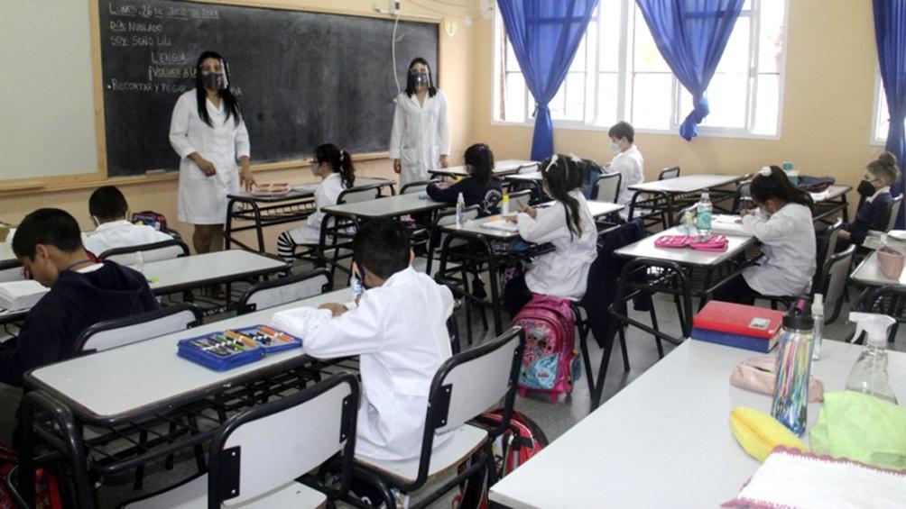 """La funcionaria resaltó que """"el objetivo es que los chicos y chicas aprendan, esa es la razón de ser de la escuela""""."""