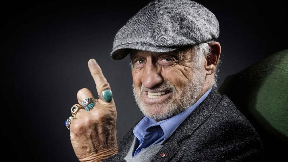 Jean-Paul Belmondo protagonizó el filme Pierrot el loco de 1965, entre otras películas del director Jean-Luc Godard.