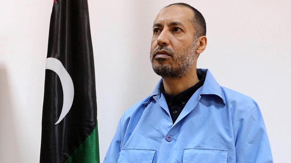 Saadi Kaddafi estaba acusado de crímenes contra los manifestantes. (Foto AFP)