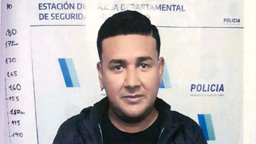 Carlos Ibáñez, el cuidador y secretario de Diego Maradona.